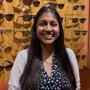 Urvi Patel, Associate Optometrist