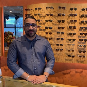 Harold Berrio, Apprentice Optician